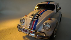 Herbie [65/365] (Nomis.) Tags: light white oneaday car vw volkswagen toy toys lumix lights drive automobile driving wheels beetle headlights disney panasonic photoaday 365 remotecontrol collectors bonnet 53 item day65 collector wheelie vwbeetle 1963 pictureaday lovebug volkswagenbeetle fiftythree remotecontrolled herbiefullyloaded wheelies herbiethelovebug project365 sooc lx3 project36565 1963vwbeetle day65365 1963volkswagenbeetle 3652013 365the2013edition 06mar13 project36506mar13 project365030613