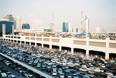 Lots (hurrairah) Tags: trip vacation holiday cars film thailand drive parkinglot southeastasia bangkok space parking streetphotography lot full parked reverse carbon emissions footprint congestion packed birdseye stationary crowded novacancy topgear overpopulation jammed automibile stowed