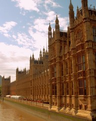 London Houses of Parliament (Germán Vogel) Tags: england london thames architecture river europe riverside britain politics capital housesofparliament parliament landmark government gothicrevivalstyle westeurope