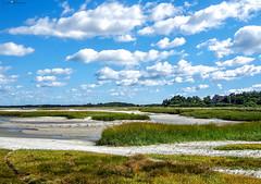 Skaket beach, Cape Cod, 2006 (loco's photos) Tags: blue sky usa beach grass clouds america sand capecod massachusetts shore skaket