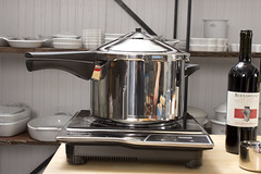 Pressure Cooker on Induction Burner by Didriks, on Flickr