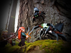 Spiders of Mirkwood (Automaton Pictures) Tags: pictures forest toy lego spiders elf elves legolas automaton greenleaf mirkwood tauriel