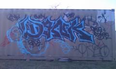 dank burner (D@nks Rnsk 2k12) Tags: graffiti san free burn spare antonio dank rns thef zade
