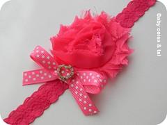 Heand pink (Arte coisa & tal.. By Simone Ribeiro) Tags: tiara artesanato artesanal beb arco faixa enxoval lojaelo7 faixinhadecabelo acessriodecabelo simoneribeiro acessrioinfantil faixinhaparabeb babycoisaetal babycoisatal