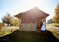 sunny wedding (Michaela Spodniakova) Tags: autumn wedding sun love groom bride natural sunny sunflare