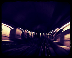 I never saw the end (Fortunes2011.Toy Heart) Tags: speed train underground lights movement blurry metro space rail tunnel vision pace tunnelvision dubaimetro nikoncoolpixl120