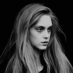fashionista AW14: ghostly (gregjack!) Tags: uk portrait blackandwhite bw london girl fashion hair model somersethouse londonfashionweek aw14