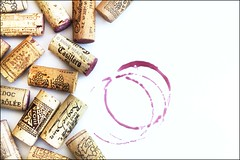 [corks and wine stain low res] (RHiNO NEAL) Tags: white stain menu wine drink background corks rhinoneal