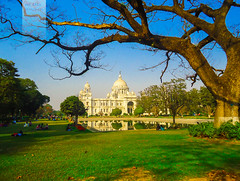 Victoria Memorial (India) (Mousam Samanta) Tags: india victoria kolkata calcutta grren nikond5100