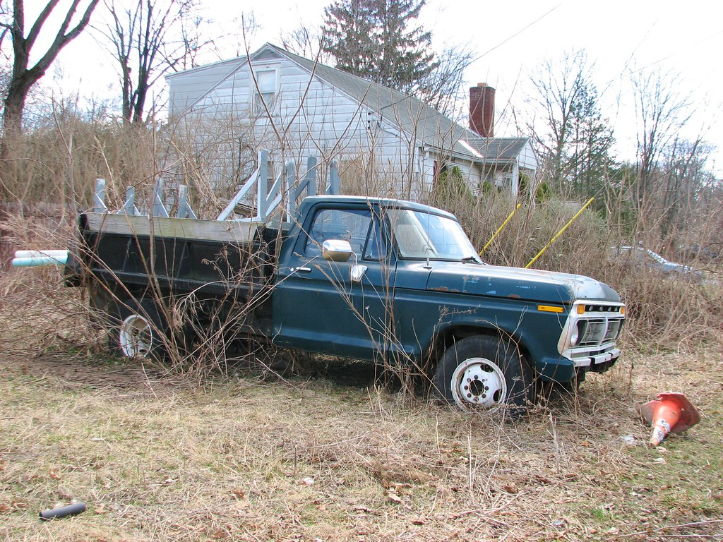 The Worlds Best Photos Of Ford And Forddumptruck Flickr Hive Mind 1961 Dump Truck A Tired 1977 In March 2013 Richie 59 Tags Trees