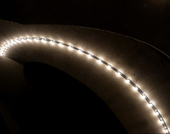 Parabolic (Johnny Grim) Tags: lighting concrete lights arch arc lightbulbs unfoundinsf parabola gwsf