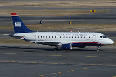 "US Airways Express Embraer 170 N801MA ""Republic Airlines"" (FlyingJ31) Tags: camera tarmac boston plane airplane us photo lawrence airport ramp republic taxi aircraft massachusetts sony garage parking jet picture pic landing edward international photograph jungle airline arrive land express arrival logan airways alpha bos runway airliner 170 jetplane photog usairways embraer rpa arriving jetliner taxiway usairwaysexpress e170 republicairlines kbos ejet n801ma slta57"
