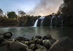 Tad Lo Waterfall (sylvain_p) Tags: ocean longexposure blue sea bw cloud lake seascape tree nature water rock stone clouds canon pose landscape waterfall rocks asia long exposure cloudy stones plateau lagoon vert tokina bleu exposition filter waterfalls nd terre asie laos nuage nuages paysage cascade arbre lao rocher caillou landcape exposures vgtation 500d ndfilter longue boloven 1116mm bolovens tokina1116mm bwnd106 bw106 bwnd