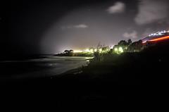 diamante night (donatopirolo) Tags: houses light sea italy cars nature night lamps calabria diamante artificiality