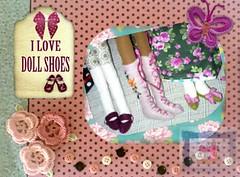 eu amo sapatinhos de bonecas Tilda... (Laroca Costurinhas) Tags: tilda boneca doll sapatinho bordado handmade felt feltro shoes artesanal