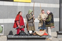 Reviewing the Shoot (Steve Barowik) Tags: museum soldier canal nikon photographer leeds warrior fullframe fx weaponry armour navigation exhibits weapons westyorkshire clarencedock d600 royalarmouries airecalder ls10 nikond600 barowik stevebarowik sbofls26
