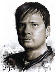 Tom Delonge sketch (Baron Vontito) Tags: ava blink182 marcador tomdelonge angelsandairwaves copicmarkers boxcarracer