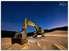 Star machine (alonsodr) Tags: longexposure nightphotography seascape lightpainting night marina landscape noche nocturnal sony paisaje torch nocturna alpha cdiz alonso tarifa carlzeiss linterna largaexposicin a900 alonsodr fotografanocturna alonsodaz alpha900 cz1635mm