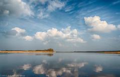 Lauwersmeer (Netherlands) (robvanderwaal) Tags: sky cloud lake reflection netherlands clouds landscape meer nederland wolken groningen lucht landschap lauwersoog lauwersmeer wolk reflectie spiegeling 2013 rvdwaal robvanderwaalfotografienl