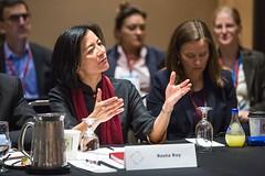 Reeta Roy at the 2013 Global Philanthropy Forum