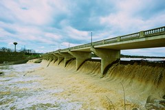 The dam at Powell, Ohio (durand clark) Tags: ohio flood dam columbusohio scioto sciotoriver powellohio nikond700 zeiss18mm