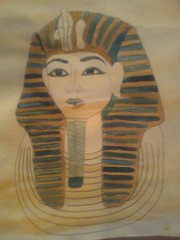 tutankhamon (justamy95) Tags: colour art collage painting design paint drawing research outline simple tutankhamun unquie