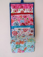 Toiletry Bag (Just-Do) Tags: make up bag sewing quilting hanging patchwork pockets toiletry
