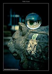Pollok House (1Alan_M) Tags: park house glass urn ball garden scotland crystal glasgow national sphere refraction trust pollok nts sirjohnmaxwell