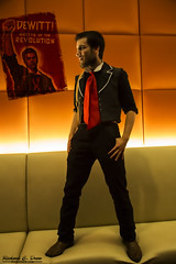 Anime Midwest 2016 Cosplay (RickDrew) Tags: anime cosplay camic cartoon animation rosemont chicago il illinois con convention amw midwest orange bioshock infinite booker dewitt