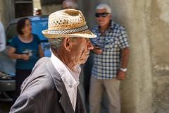 the man (Havebug) Tags: profilo oldman