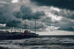 Blackpool 2/2 (Absolute_balance) Tags: blackpool vsco storm moody dark sea ocean pier canon 35mm 6d sigma uk