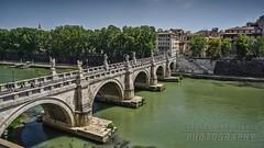 Ponte Sant'Angelo (Andrea Rapisarda) Tags: roma tevere fiume ponte sony a6000 allrightsreserved italia italy landscape panorama rome 16mm 169
