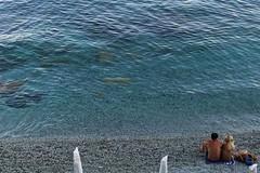 Souls and sea (91elena91) Tags: sea people monterosso cinqueterre canon