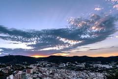 Donde habita el Olvido (Nicols Rosell) Tags: barcelona carmel catalunya catalonia espaa spain europe europa paisaje landscape atardecer nikon nikond7100 d7100 nubes clouds