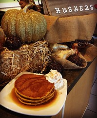 Husker Football, Cooler Weather & Pumpkin Spice Pancakes. These are a few of our favorite things  #brunchallday (greenfieldscafe) Tags: instagram greenfields cafe