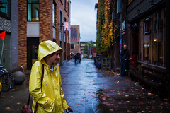Yellow Raincoats (josephinguyen) Tags: yellow raincoat pnw seattle washington