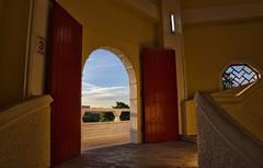 Open Door (Br@jeshKr) Tags: lights door window sunset balcony brajeshart h love
