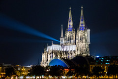 silentMOD (ToDoe) Tags: cologne klnerdom dom dome colognecathedral kln rheinufer nachtaufnahme nacht licht lichtinstallation lightinstallation lights blue blu server god silentmod