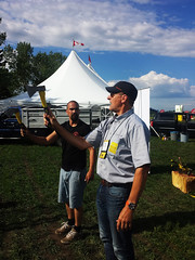 Axe Throwing Lesson (pokoroto) Tags: axe throwing lesson people lacombe   alberta canada  6   rokugatsu minazuki monthofwater 2016 28 summer june