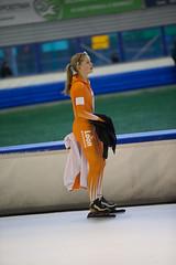 A37W7322 (rieshug 1) Tags: speedskating schaatsen eisschnelllauf skating nkjunioren knsb nkjuniorenallroundafstanden afstanden allround 50010001500massstart demeent alkmaar sportcomplexdemeent juniorenc ladies dames 500m