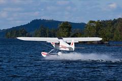 Private Piper PA-18-150 Super Cub N4105Z (jbp274) Tags: 52b greenville greenvilleseaplaneflyin flyin airplanes seaplane floatplane lake water mooseheadlake piper pa18 supercub