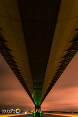 Underneath The Span (Lee Butler) Tags: boats bridge hull humber humberbridge river road sea