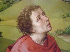 Rogier van der Weyden, The Crucifixion triptych, c 1440 (DeBeer) Tags: kunsthistorischesmuseum khm museum vienna wien austria art painting netherlandish flemish lategothic triptych altar crucifixion 1440 1430s 1440s 15thcenturyart 15thcenturypainting miracle wonder marvel rogiervanderweyden vanderweyden