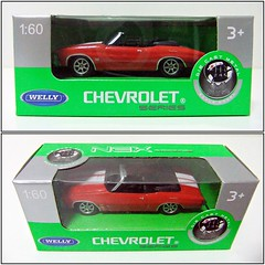 CHEVROLET CHEVELLE (1971) - WELLY / NEX (RMJ68) Tags: chevrolet chevelle ss 454 convertible chevy 1971 welly nex diecast coches cars juguete toy 160