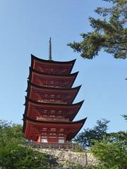 5 storey pagoda (Stop carbon pollution) Tags: japan  honshuu  hiroshimaken  miyajima