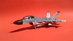 F/A-27A 'Skua' (Matt Hacker) Tags: lego jet fighter aircraft 4th generation fictional moc mig sukhoi hornet fa18 carrier japan