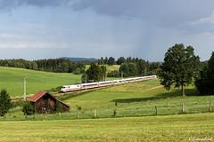 DB 402 003 in Uffing am Staffelsee (TheKnaeggebrot) Tags: db ag ice ice2 402003 420 uffing am staffelsee mittenwaldbahn kbs960