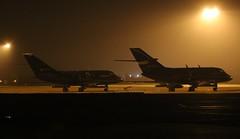 RAF CONINGSBY AT NIGHT (MANX NORTON) Tags: raf bbmf dakota coningsby lancaster spitfire hurricane typhoon eurofighter 41sq a400 atlas hercules c130 f35b