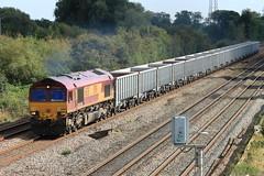 EWS # 66128 694X 1125 West Thurrock Sidings to Mountsorrel Sdgs (aledy66) Tags: ews 66128 694x 1125 west thurrock sidings mountsorrel sdgs diesel freight train loco locomotive canon 70d 70300mm railway
