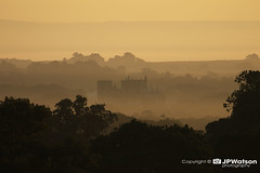 Ripon Cathedral in the Early Morning Mist